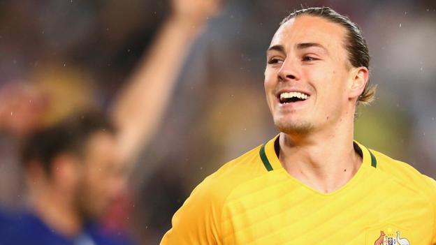 Irvine Talks Socceroos Action ...
